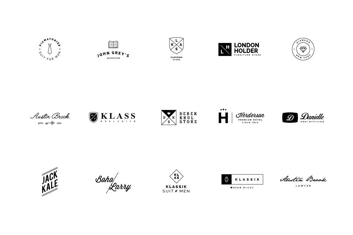 45 Minimalist Logos.