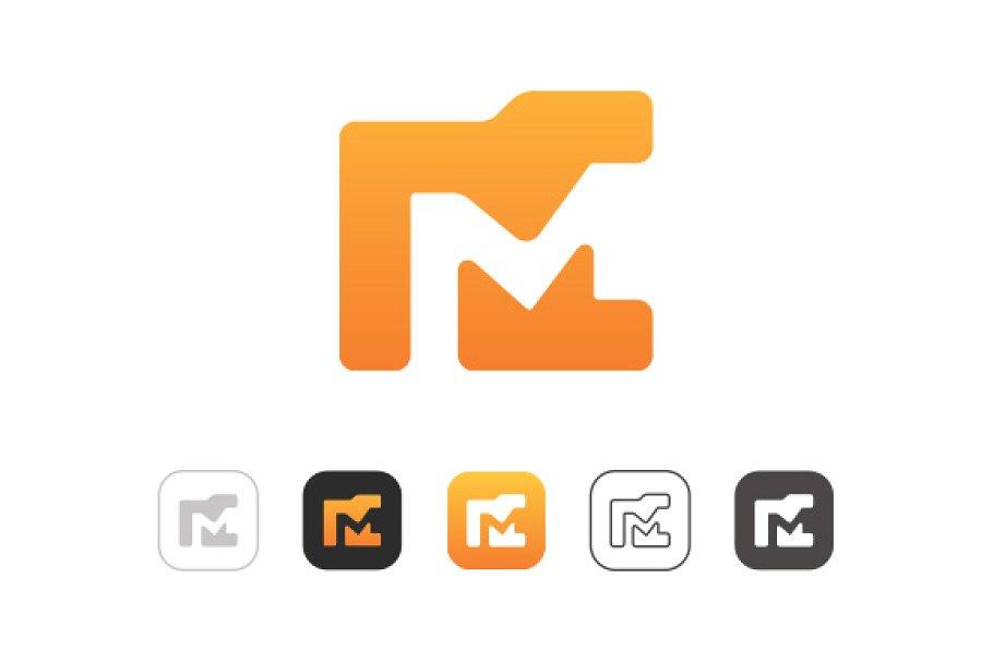 Simple Folder M Logo.