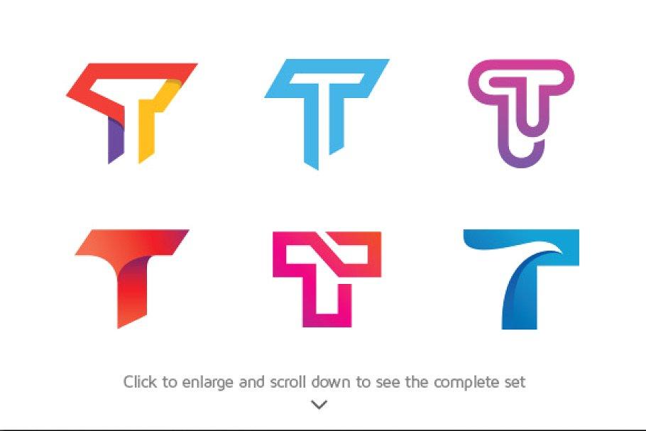 6 Best of Letter T Logos.