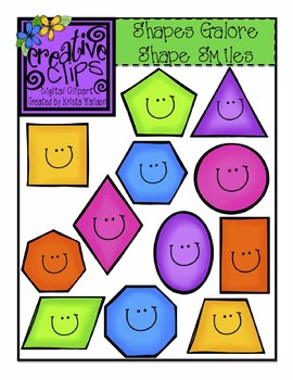 Shapes Galore {Creative Clips Digital Clipart}.