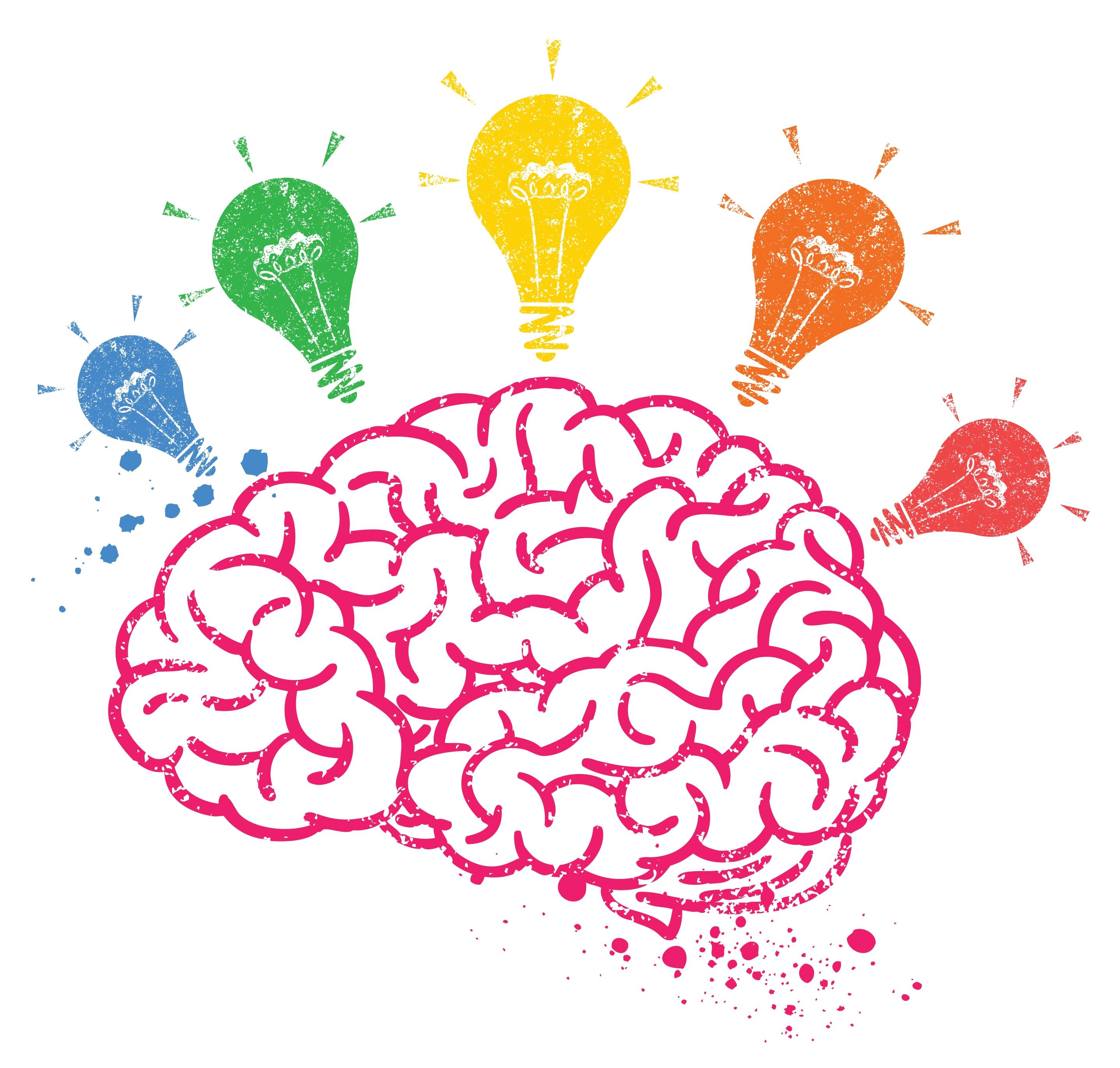 Creative Brain Clipart.