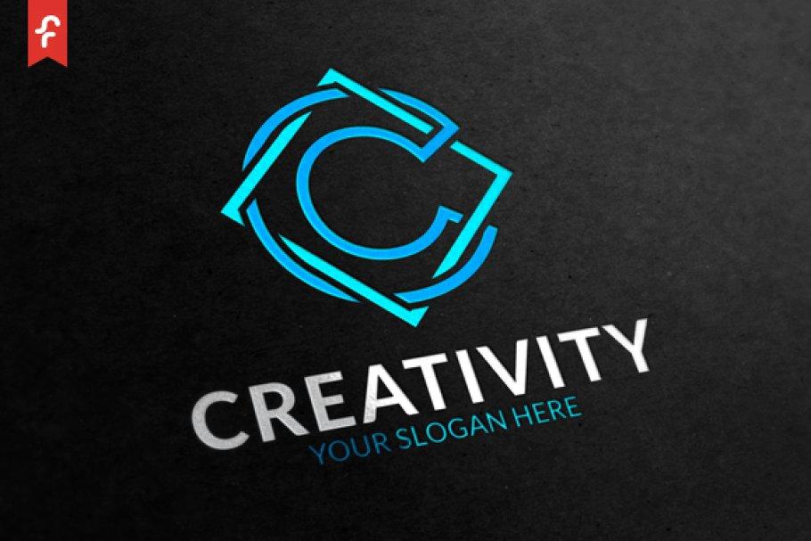 Creativity Logo ~ Logo Templates ~ Creative Market.