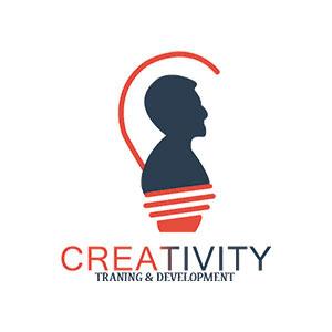 creativity logo لوجو شركة كرياتفتي on Behance.