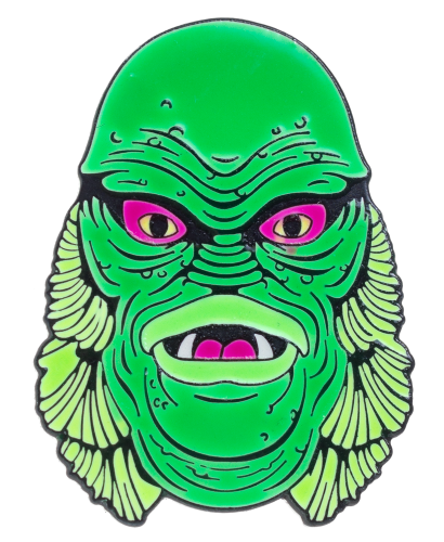 Creature From The Black Lagoon Badge.