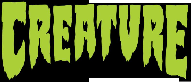 Creature skateboard logo Font in 2019.