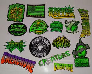 Details about CREATURE Skateboard Sticker.