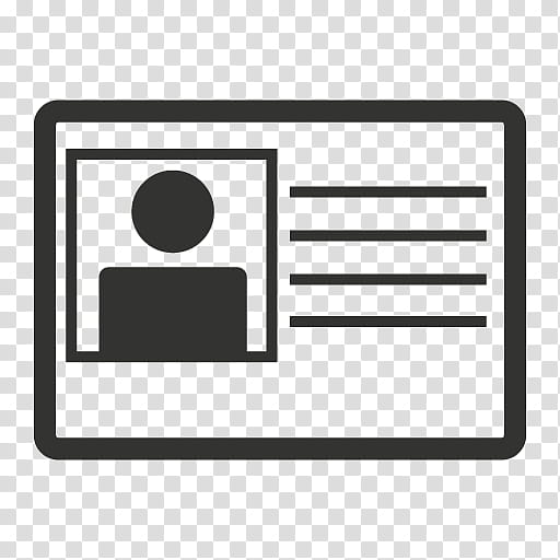Gray Icons, credentials transparent background PNG clipart.