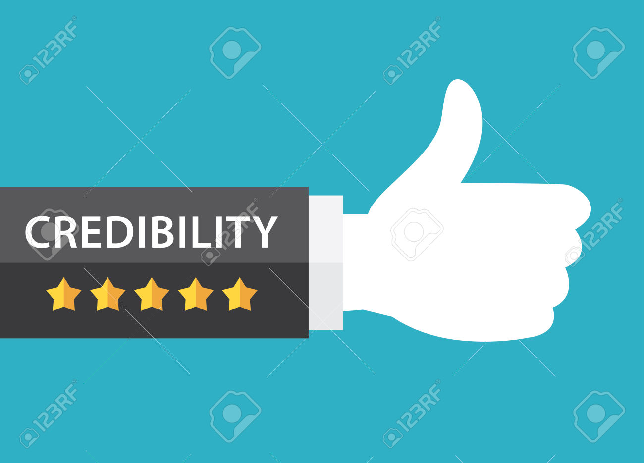 credibility: Five star and.