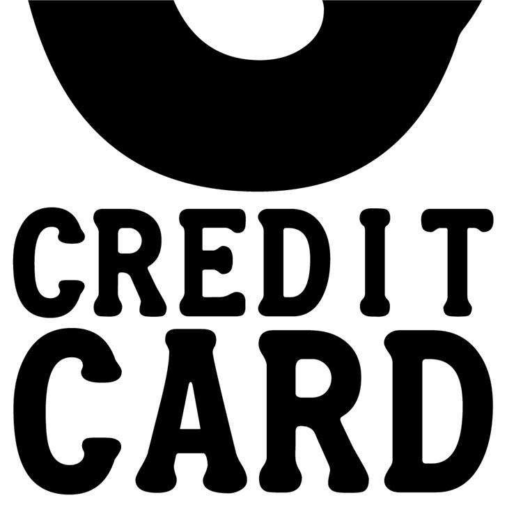 Credit Card font.