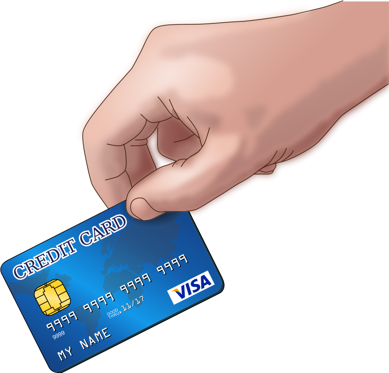 Free to Use & Public Domain Credit Card Clip Art.