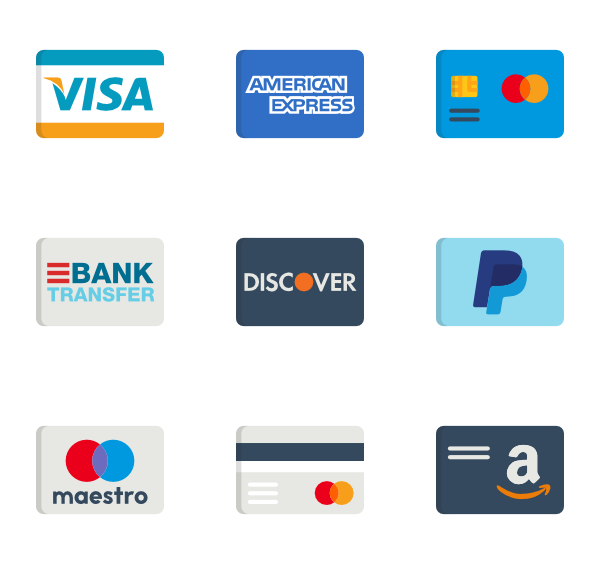 75 credit card icon packs.
