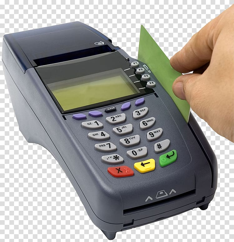 Credit card Payment terminal Debit card, swipe transparent.