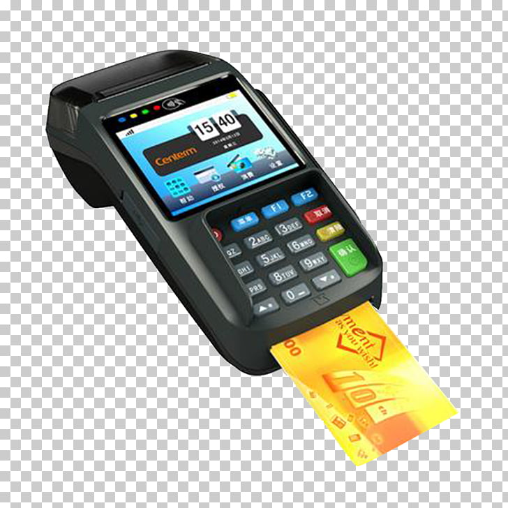 Feature phone Credit card, Offline credit card machine.