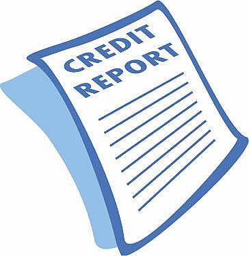 Credit Report Clipart.