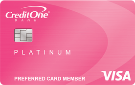 Credit One Bank® Unsecured Visa® with Free Credit Score.