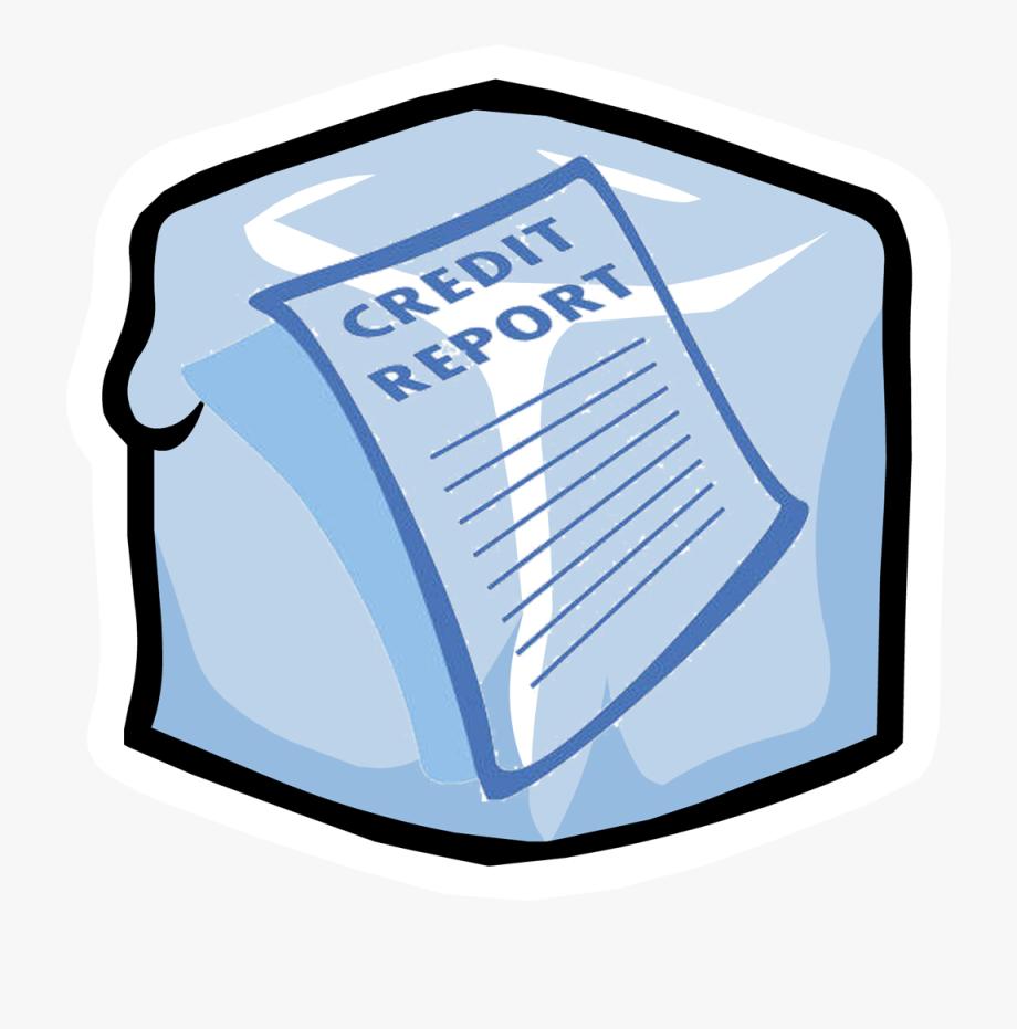 Credit Report Report Clipart.