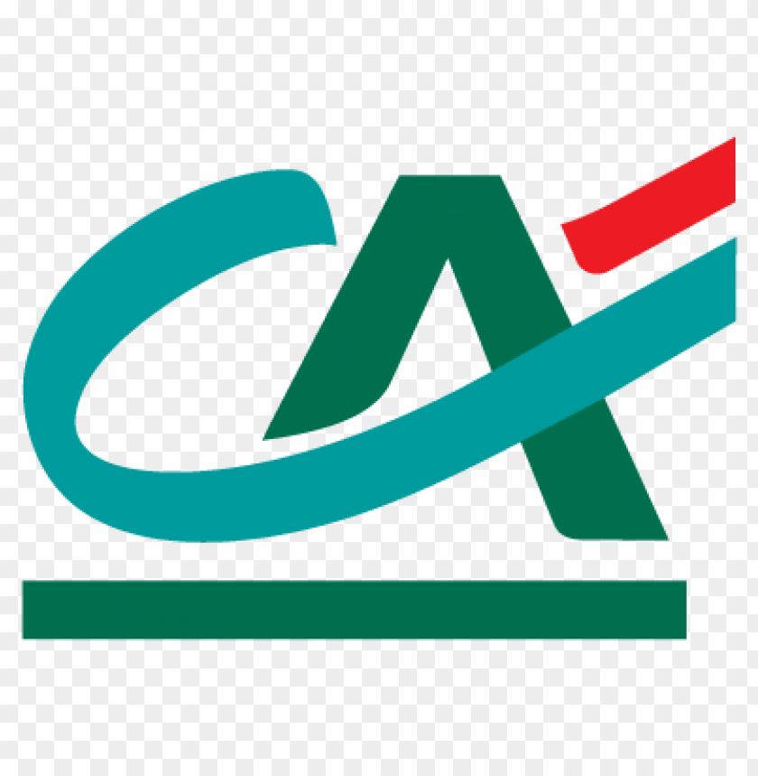 credit agricole logo vector free download.