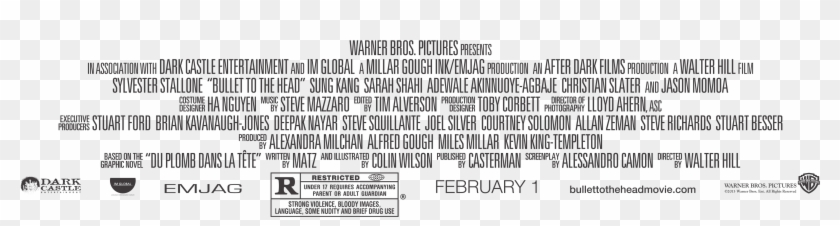 Movie Poster Credits Template Discussion Movie Credit.