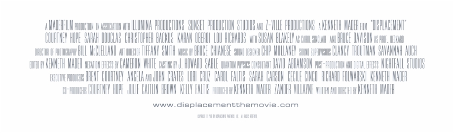 Movie Credits Png, Transparent Png (2700367 ).