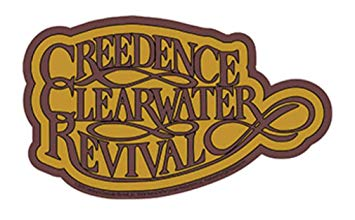 Amazon.com: Creedence Clearwater Revival Brown and Tan Logo.