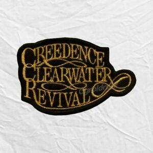 Details about Creedence Clearwater Revival Logo Embroidered Patch John  Fogerty Tom Cook Band.