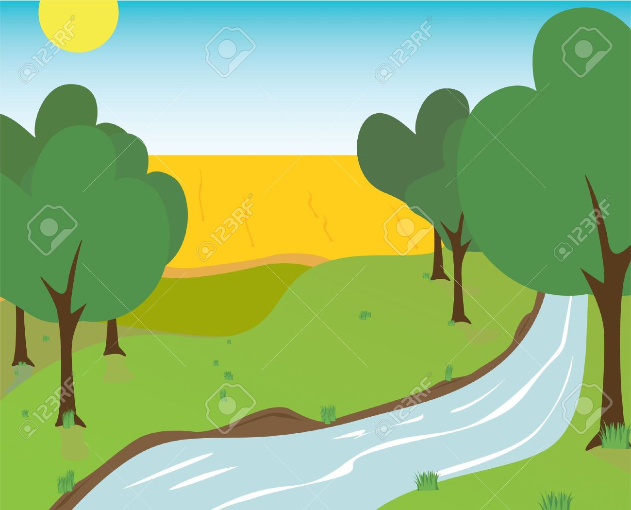 Creek Cliparts Free Download Clip Art.