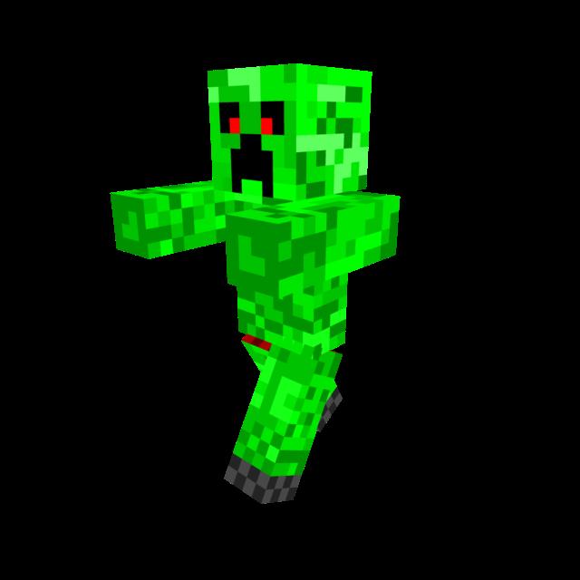 Minecraft Creeper Clipart.