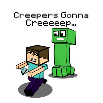 Creeper cliparts.