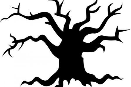 Creepy tree clipart » Clipart Station.