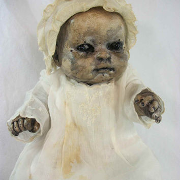Shop Creepy Doll on Wanelo.