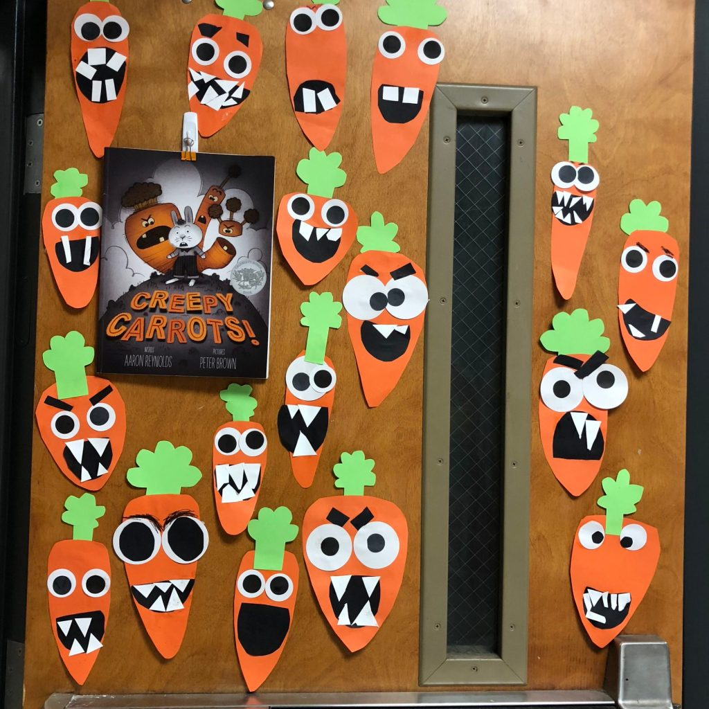 Creepy Carrots Craft.