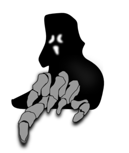 Ghost clipart creepy, Ghost creepy Transparent FREE for.