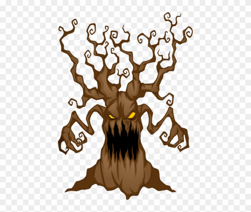 Download Halloween Scary Tree Png Images Background.