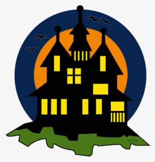 Free Haunted House Clip Art with No Background.