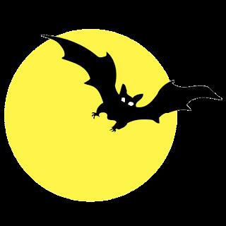 Spooky Moon Clipart.