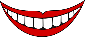 Creepy Mouth Clipart.