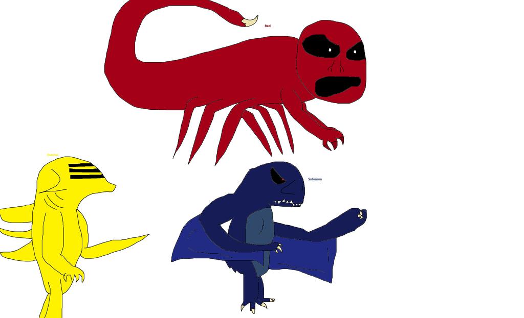 NES Godzilla Creepypasta characters by GodzillaFan1234 on DeviantArt.