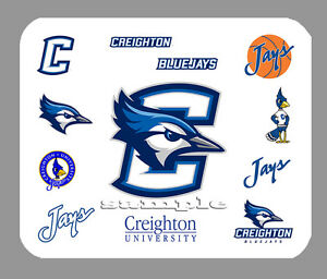Details about Item#4348 Creighton Bluejays Logo Art Mouse Pad.