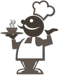 Dining Clipart Image.