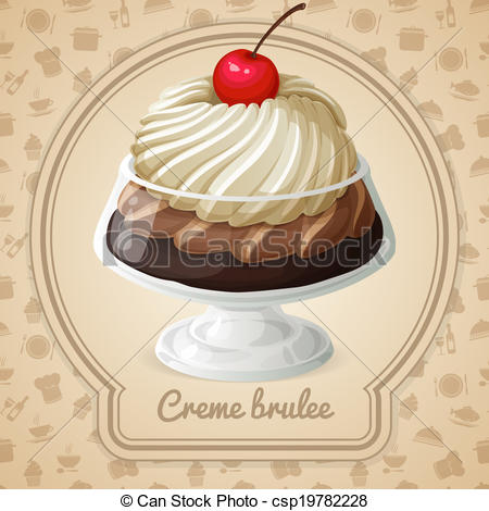 Creme brulee Clipart and Stock Illustrations. 69 Creme brulee.