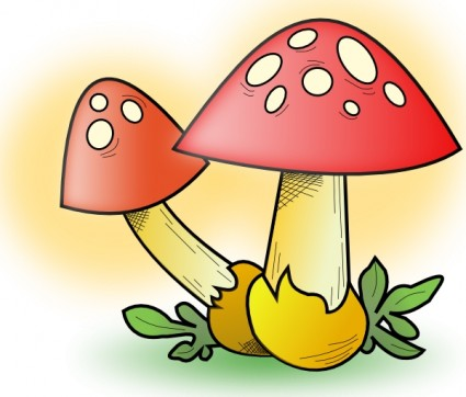 Mushroom Clip Art Download.