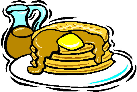 Pancake Breakfast Clip Art.