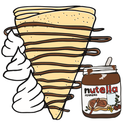 The Ultimate Nutella Crêpe.