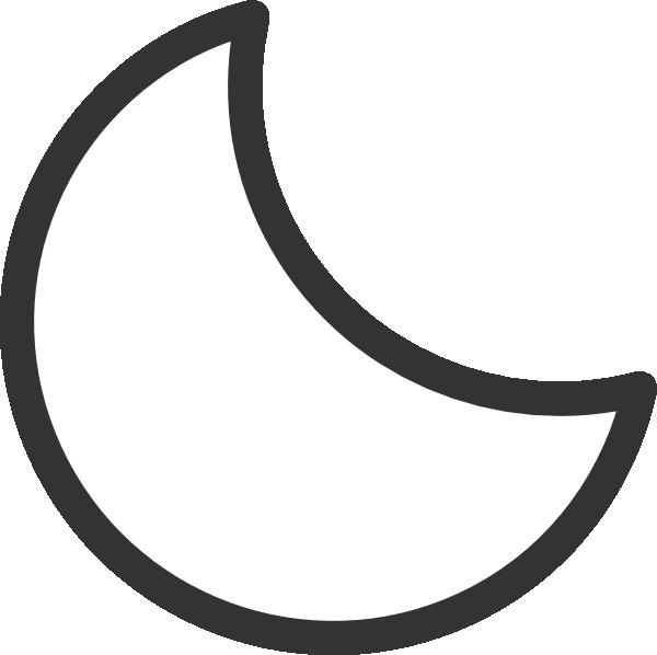 Crescent Clip Art.