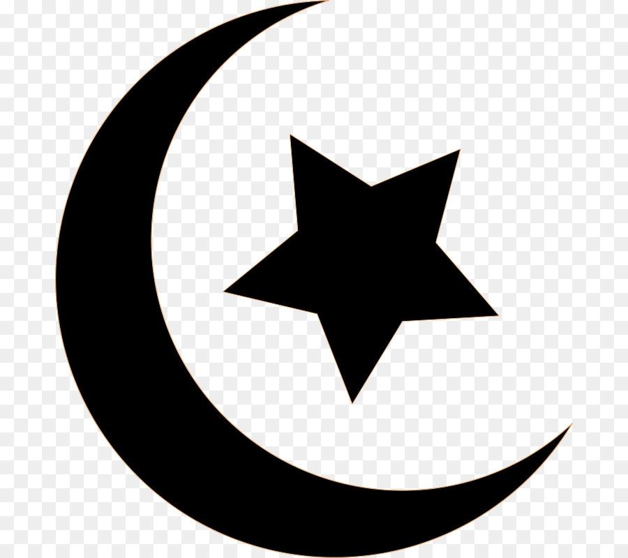 Moon Symbol clipart.
