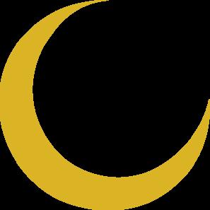 Crescent Moon Clip Art at Clker.com.