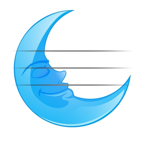 Crescent Moon Face Clipart#2181736.