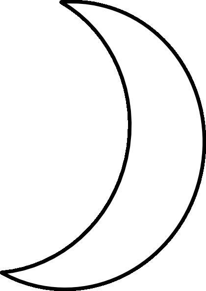 Crescent Moon Clipart.