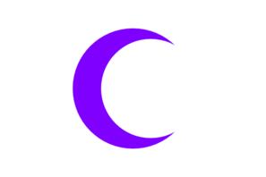 Purple Crescent Clip Art at Clker.com.