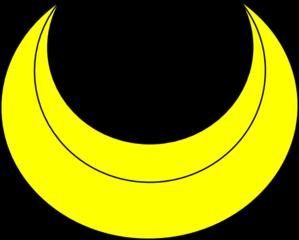 Crescent Clip Art at Clker.com.